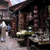 Old Town In The Bosnian Capital Of Sarajevo