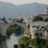 The Famous 16th Century Bridge In Mostar Was Rebuilt After The 1993 War