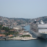 Cruise Ship Docking At Dubrovnik