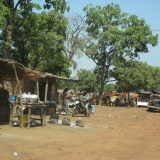 Gold Miners Camp In Northern Burkina Faso