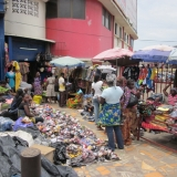 The Famous Makola Market In Central Accra