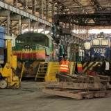 Locomotives At The Transcentury Repair Shop