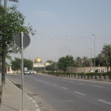 The Empty Streets Inside The International Zone