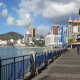 Caudan Waterfront Shopping Area In Port Louis