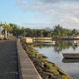 Waterfront In The Town Of Mahebourg