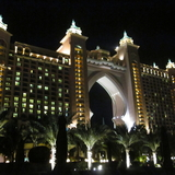 Palm Atlantis At Night