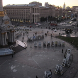 Maidan Square In Kiev